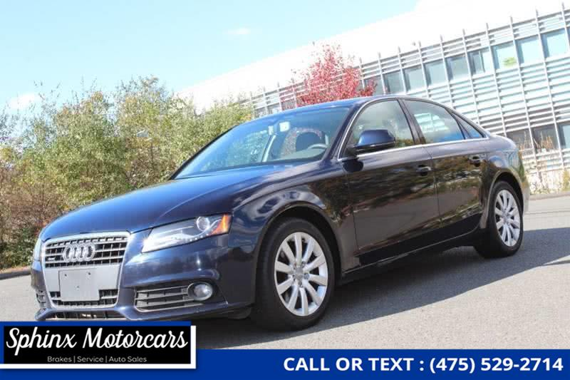 Used 2009 Audi A4 in Waterbury, Connecticut | Sphinx Motorcars. Waterbury, Connecticut