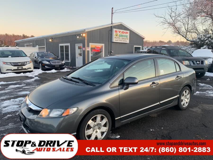 Used 2009 Honda Civic Sdn in East Windsor, Connecticut | Stop & Drive Auto Sales. East Windsor, Connecticut