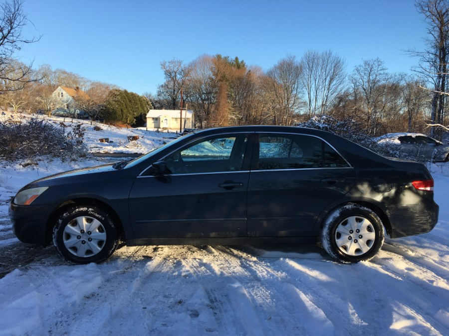 Used Honda Accord Sdn LX Auto w/Side Airbags 2004   Elite Auto Brokers LLC. Norwich, Connecticut