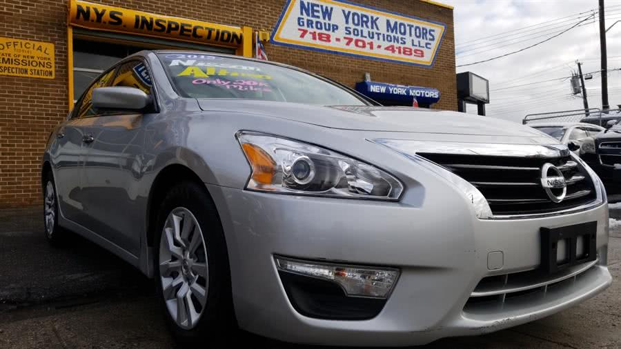 2015 Nissan Altima 4dr Sdn I4 2.5 SV, available for sale in Bronx, NY