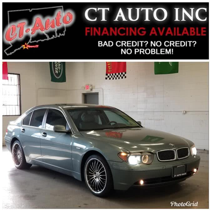 Used BMW 7-Series 745i 4dr Sdn 2004 | CT Auto. Bridgeport, Connecticut