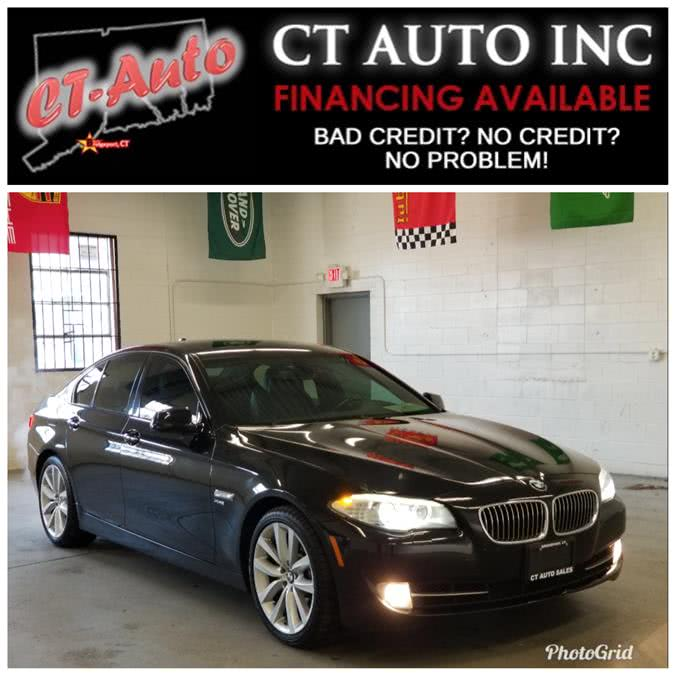 Used BMW 5 Series 4dr Sdn 535i xDrive AWD 2012 | CT Auto. Bridgeport, Connecticut