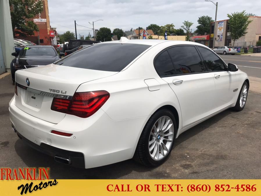 Used BMW 7 Series 4dr Sdn 750Li RWD 2014 | Franklin Motors Auto Sales LLC. Hartford, Connecticut