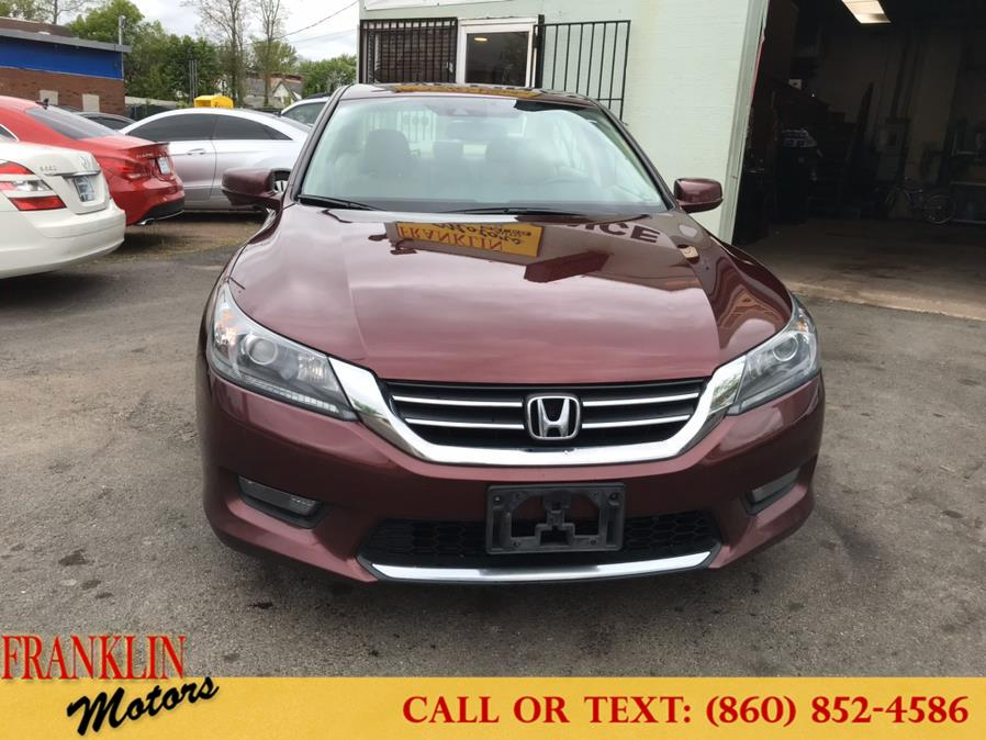 Used Honda Accord Sedan 4dr I4 CVT EX-L 2014 | Franklin Motors Auto Sales LLC. Hartford, Connecticut