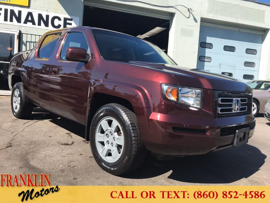 Used 2008 Honda Ridgeline in Hartford, Connecticut | Franklin Motors Auto Sales LLC. Hartford, Connecticut