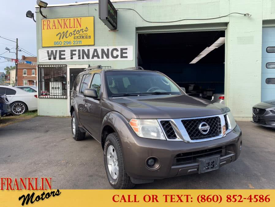 Used 2008 Nissan Pathfinder in Hartford, Connecticut | Franklin Motors Auto Sales LLC. Hartford, Connecticut