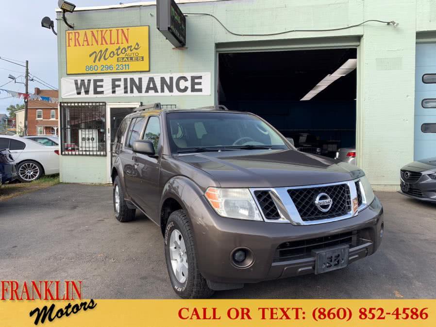 Used 2008 Nissan Pathfinder in Hartford, Connecticut | Franklin Motors Auto Sales LLC. Hartford, Connecticut