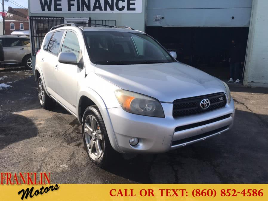 Used 2008 Toyota RAV4 in Hartford, Connecticut | Franklin Motors Auto Sales LLC. Hartford, Connecticut