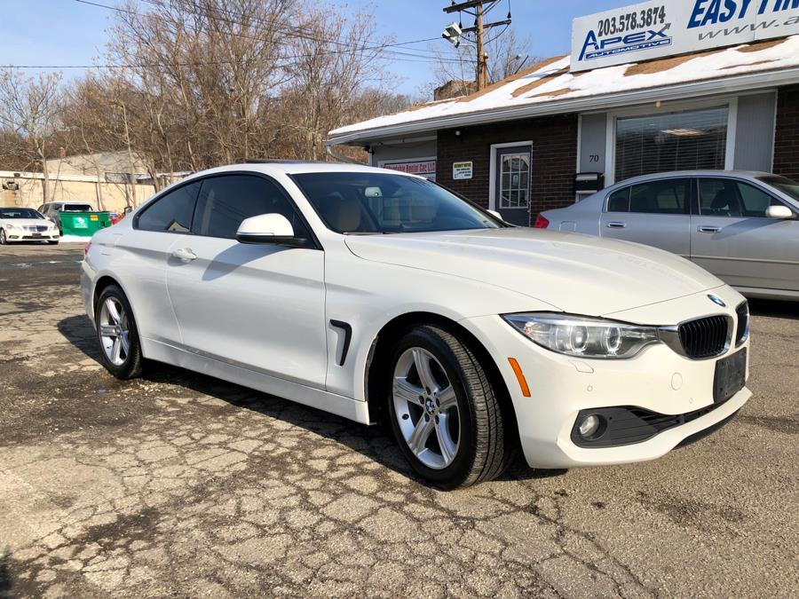 2014 BMW 4 Series 2dr Cpe 428i xDrive AWD SULEV, available for sale in Waterbury, Connecticut   Apex  Automotive. Waterbury, Connecticut