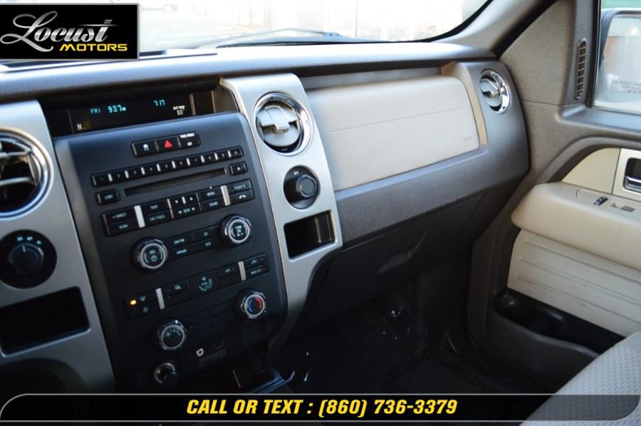 "Used Ford F-150 4WD SuperCab 145"" XLT 2009   Locust Motors LLC. Hartford, Connecticut"