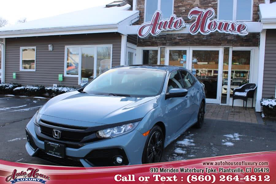 Used 2017 Honda Civic Hatchback in Plantsville, Connecticut | Auto House of Luxury. Plantsville, Connecticut