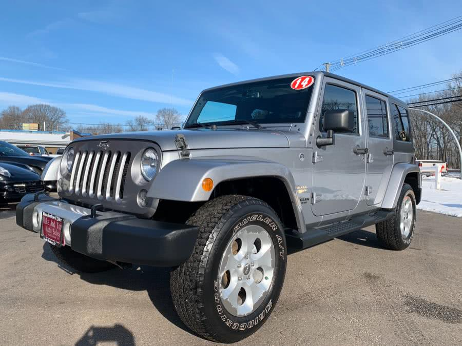 Used Jeep Wrangler Unlimited 4WD 4dr Sahara 2014 | Mike And Tony Auto Sales, Inc. South Windsor, Connecticut