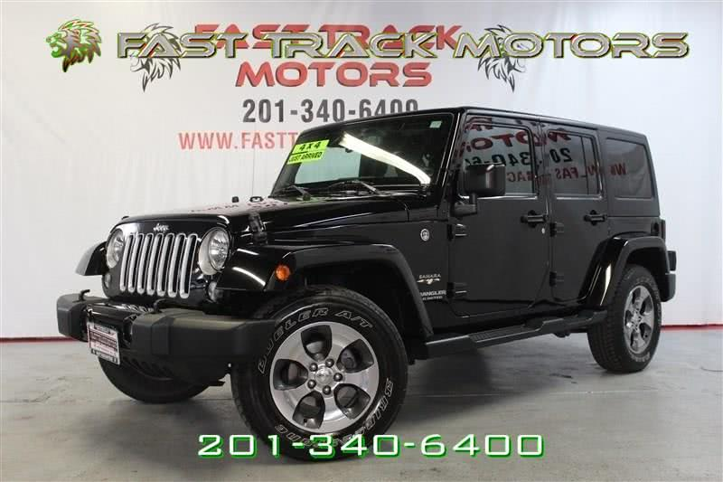 Used Jeep Wrangler Unlimited SAHARA 2016 | Fast Track Motors. Paterson, New Jersey