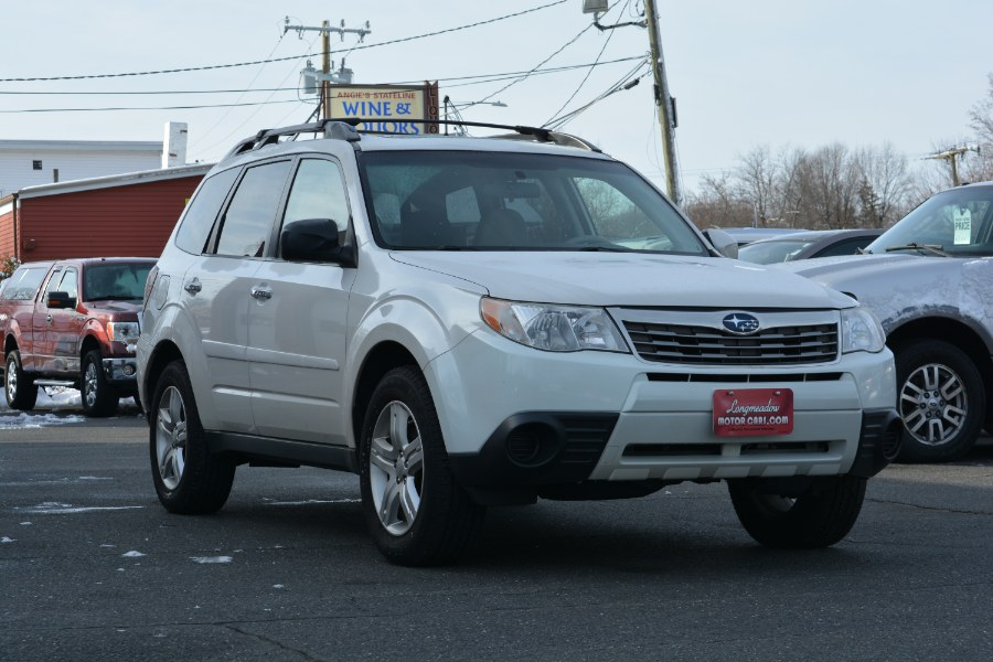 Used Subaru Forester 4dr Auto 2.5X Premium PZEV 2010 | Longmeadow Motor Cars. ENFIELD, Connecticut