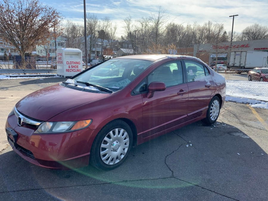 2008 Honda Civic Sdn 4dr Auto LX, available for sale in Wallingford, Connecticut | Wallingford Auto Center LLC. Wallingford, Connecticut