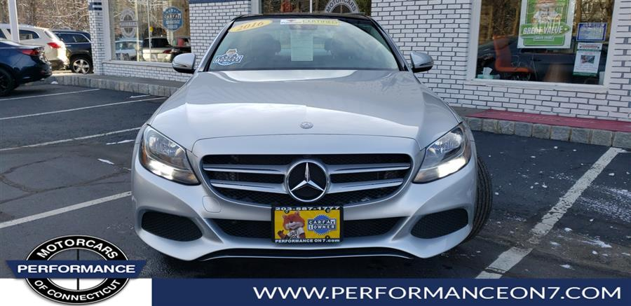 2016 Mercedes-Benz C-Class 4dr Sdn C 300 Luxury 4MATIC, available for sale in Wilton, Connecticut | Performance Motor Cars. Wilton, Connecticut