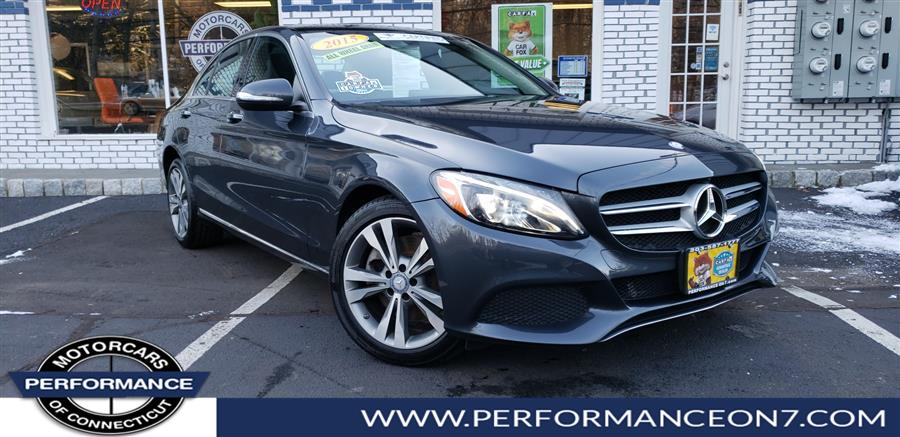 2015 Mercedes-Benz C-Class 4dr Sdn C300 4MATIC, available for sale in Wilton, Connecticut   Performance Motor Cars. Wilton, Connecticut