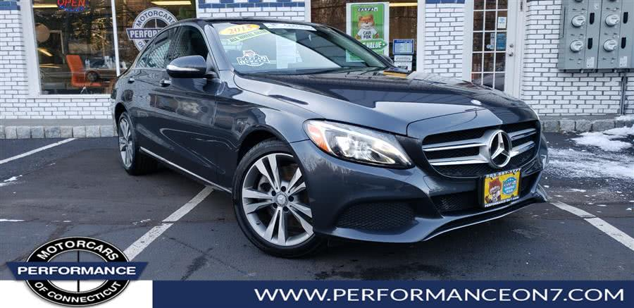 Used 2015 Mercedes-Benz C-Class in Wilton, Connecticut | Performance Motor Cars. Wilton, Connecticut