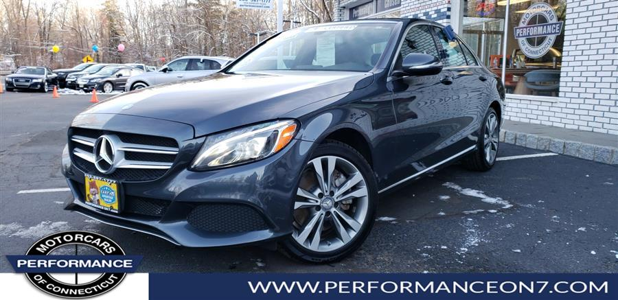 2015 Mercedes-Benz C-Class 4dr Sdn C300 4MATIC, available for sale in Wilton, Connecticut | Performance Motor Cars. Wilton, Connecticut