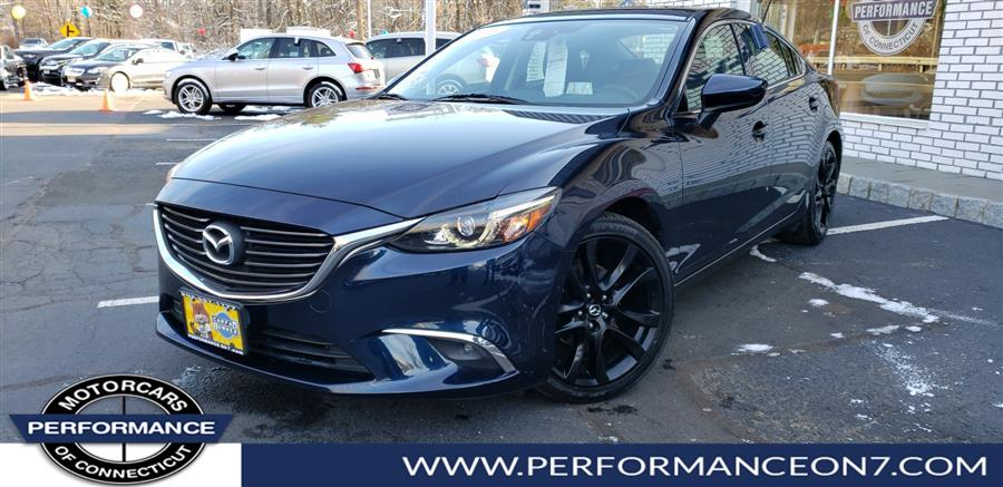 2016 Mazda Mazda6 4dr Sdn Auto i Grand Touring, available for sale in Wilton, Connecticut | Performance Motor Cars. Wilton, Connecticut
