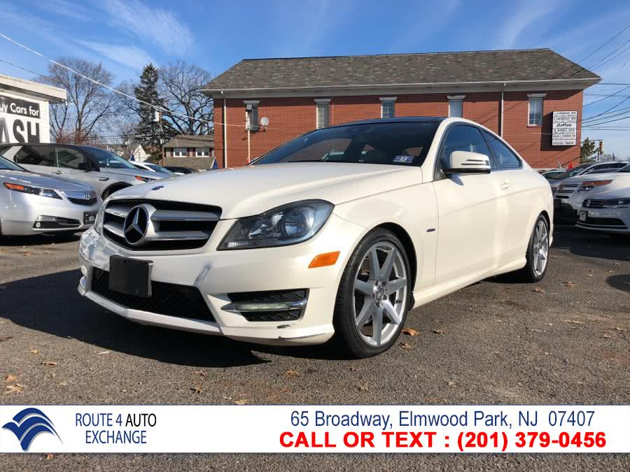 Used 2012 Mercedes-Benz C-Class in Elmwood Park, New Jersey | Route 4 Auto Exchange. Elmwood Park, New Jersey