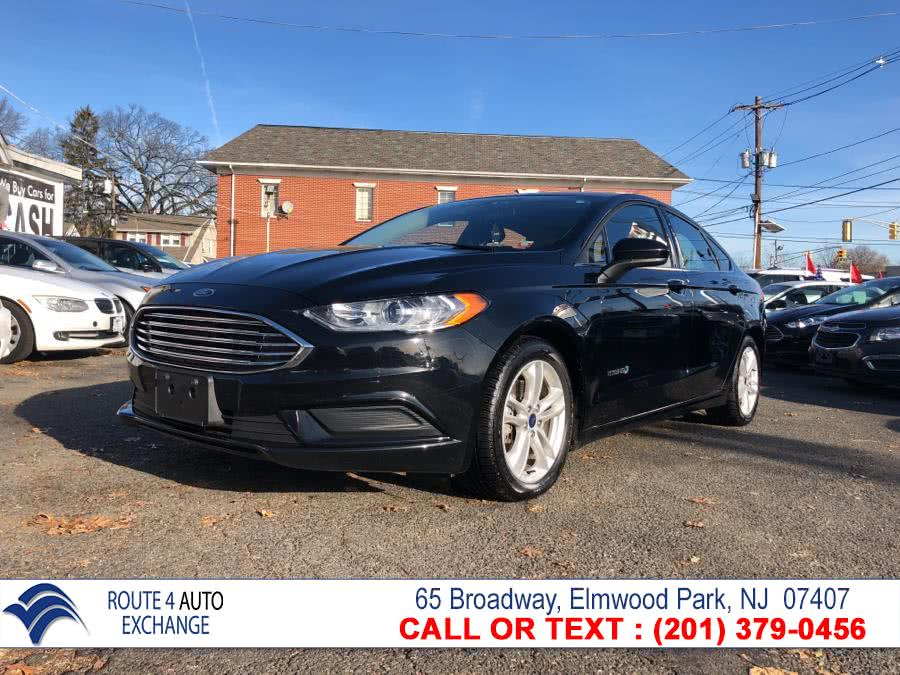 Used 2018 Ford Fusion Hybrid in Elmwood Park, New Jersey | Route 4 Auto Exchange. Elmwood Park, New Jersey