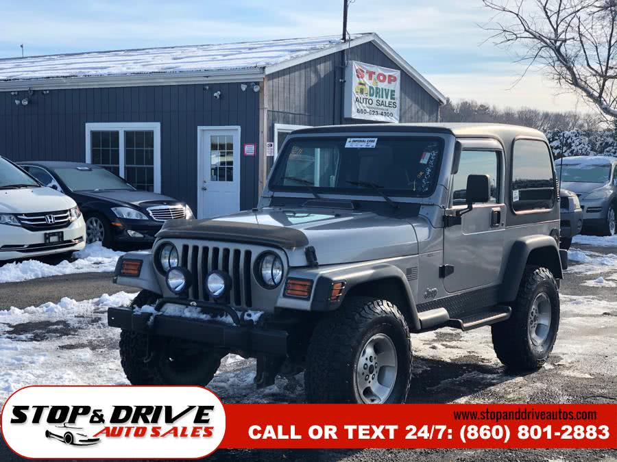 Used 2000 Jeep Wrangler in East Windsor, Connecticut | Stop & Drive Auto Sales. East Windsor, Connecticut