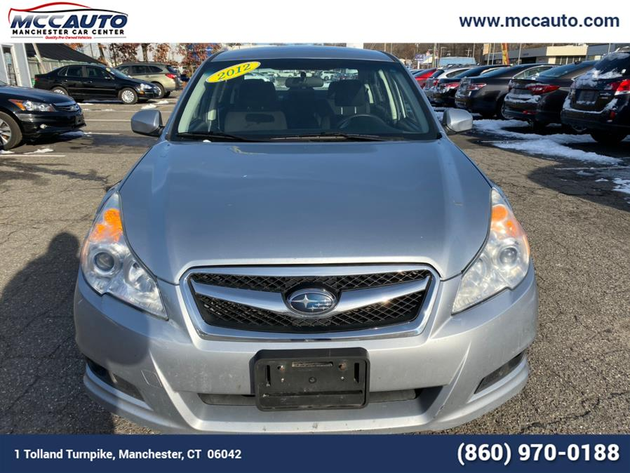 Used Subaru Legacy 4dr Sdn H4 Auto 2.5i 2012 | Manchester Car Center. Manchester, Connecticut