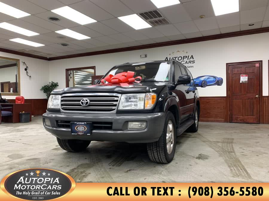 Used Toyota Land Cruiser 4dr 4WD (Natl) 2003 | Autopia Motorcars Inc. Union, New Jersey
