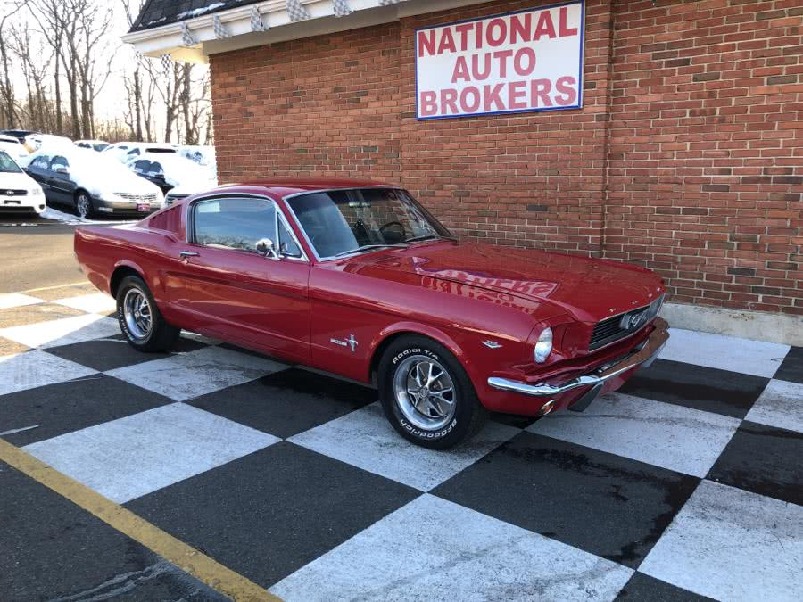 Used 1966 Ford Mustang Fastback in Waterbury, Connecticut | National Auto Brokers, Inc.. Waterbury, Connecticut
