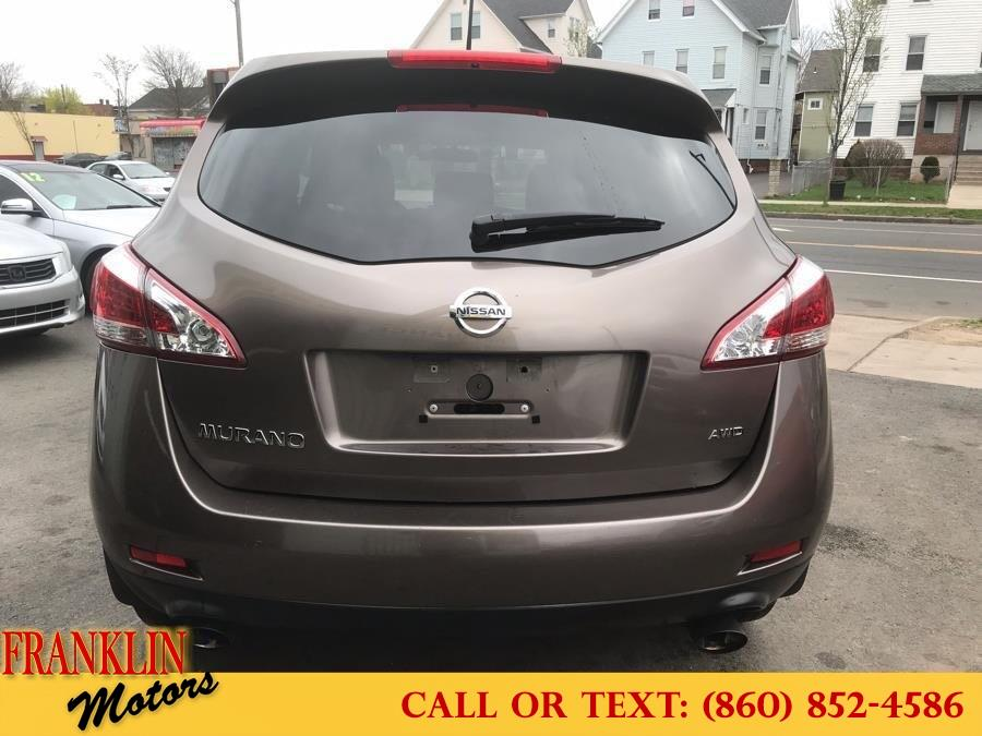 Used Nissan Murano AWD 4dr S 2012 | Franklin Motors Auto Sales LLC. Hartford, Connecticut