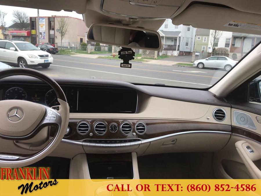 Used Mercedes-Benz S-Class 4dr Sdn S550 4MATIC 2015 | Franklin Motors Auto Sales LLC. Hartford, Connecticut
