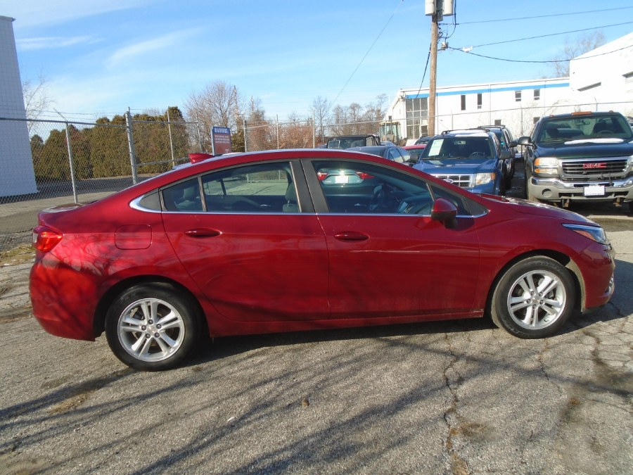 2017 Chevrolet Cruze 4dr Sdn Auto LT, available for sale in Milford, Connecticut | Dealertown Auto Wholesalers. Milford, Connecticut