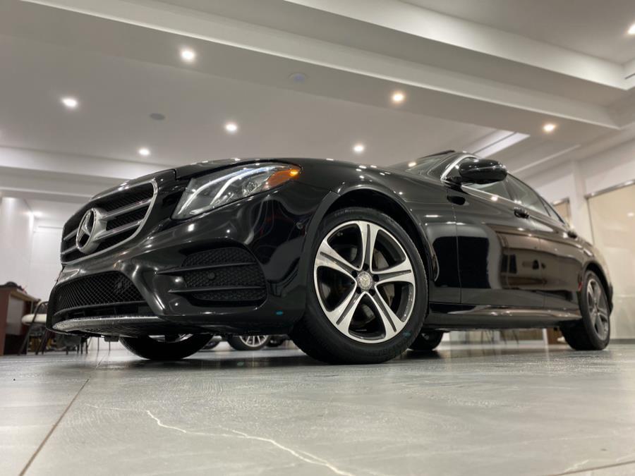 2017 Mercedes-Benz E-Class E300 Sport 4MATIC Sedan, available for sale in Franklin Square, New York | Luxury Motor Club. Franklin Square, New York