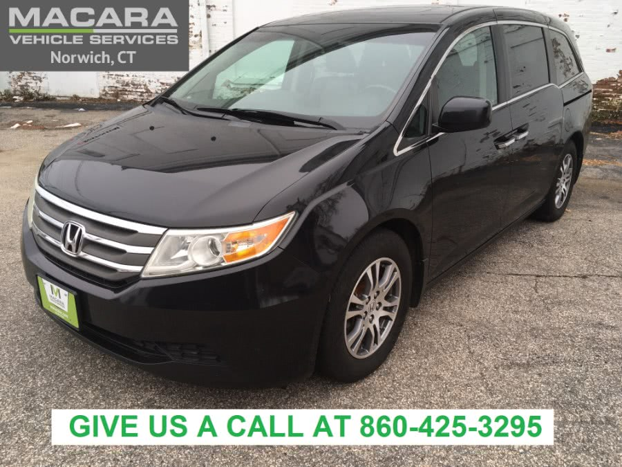 Used Honda Odyssey 5dr EX-L 2011 | MACARA Vehicle Services, Inc. Norwich, Connecticut