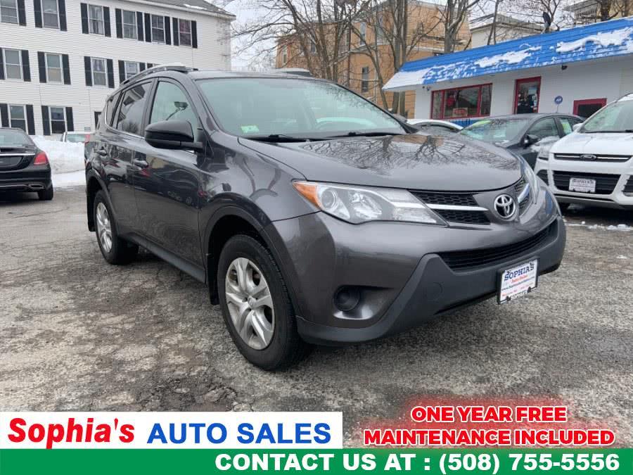 Used 2013 Toyota RAV4 in Worcester, Massachusetts   Sophia's Auto Sales Inc. Worcester, Massachusetts