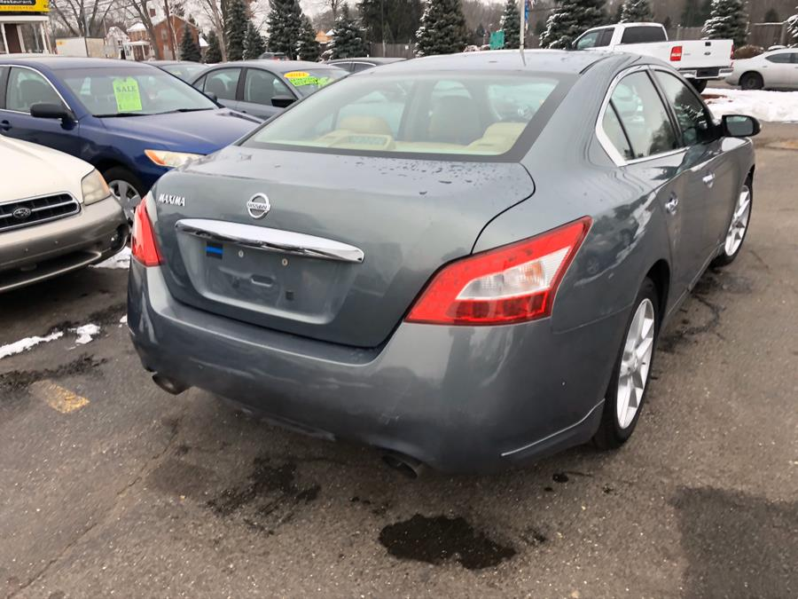 2009 Nissan Maxima 4dr Sdn V6 CVT 3.5 SV w/Sport Pkg, available for sale in East Windsor, Connecticut | A1 Auto Sale LLC. East Windsor, Connecticut