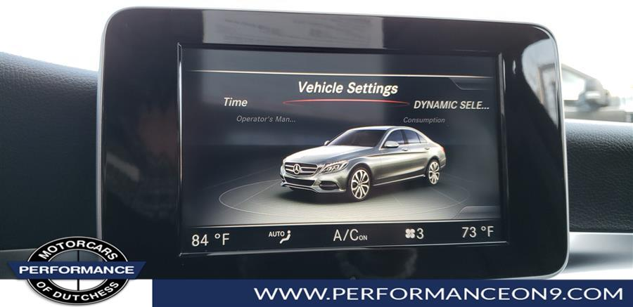 Used Mercedes-Benz C-Class 4dr Sdn C 300 Luxury 4MATIC 2016 | Performance Motorcars Inc. Wappingers Falls, New York