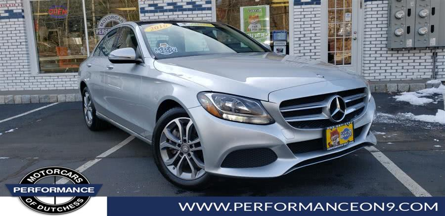Used 2016 Mercedes-Benz C-Class in Wappingers Falls, New York | Performance Motorcars Inc. Wappingers Falls, New York