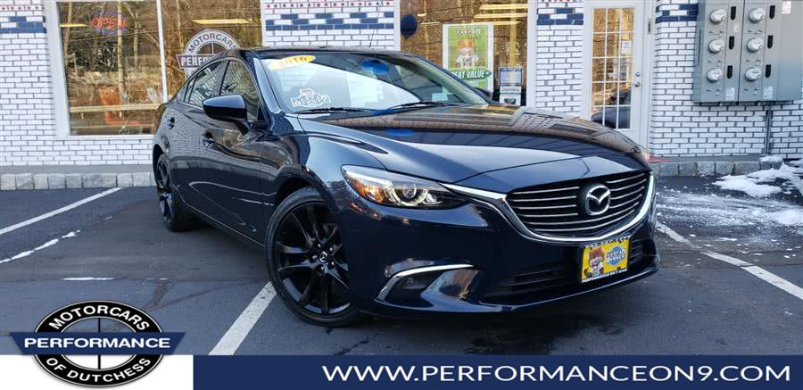 Used Mazda Mazda6 4dr Sdn Auto i Grand Touring 2016 | Performance Motorcars Inc. Wappingers Falls, New York