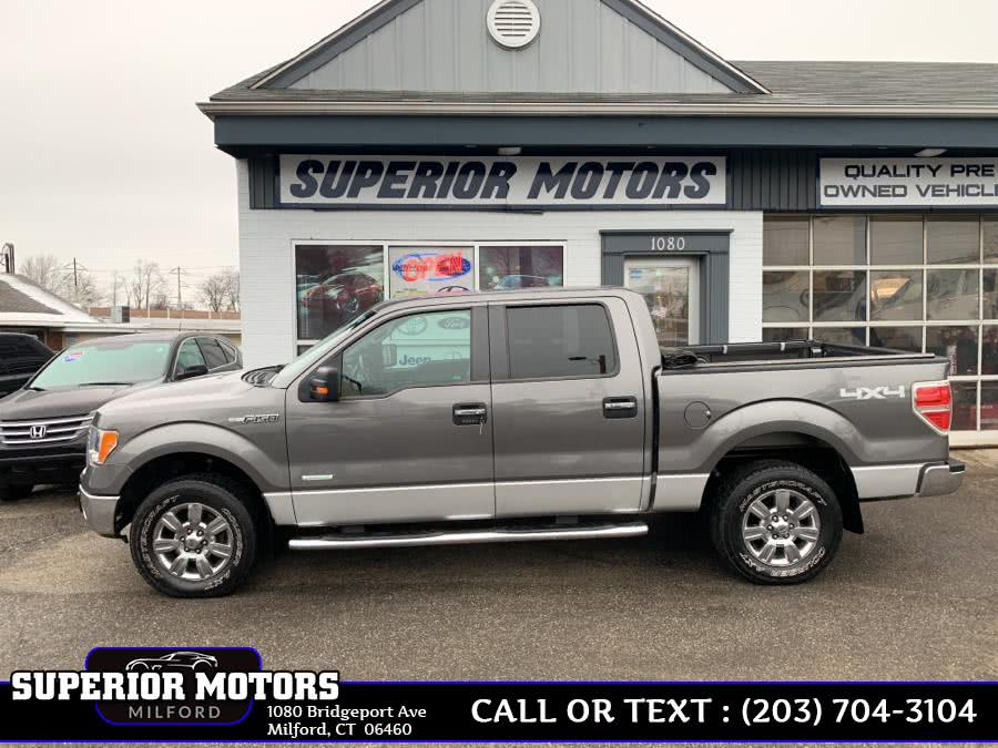 Used 2012 Ford F-150 SUPERCREW in Milford, Connecticut | Superior Motors LLC. Milford, Connecticut