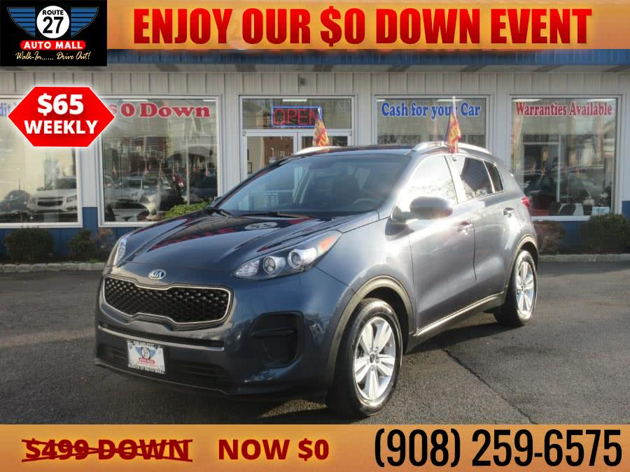 Used 2017 Kia Sportage in Linden, New Jersey | Route 27 Auto Mall. Linden, New Jersey