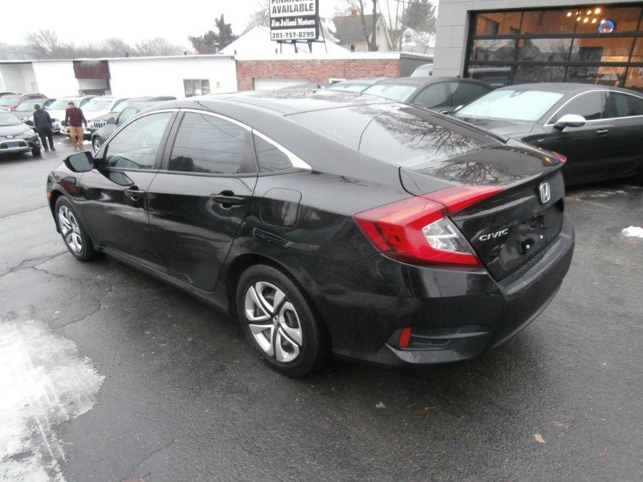 2017 Honda Civic Sedan LX CVT, available for sale in Waterbury, Connecticut | Jim Juliani Motors. Waterbury, Connecticut