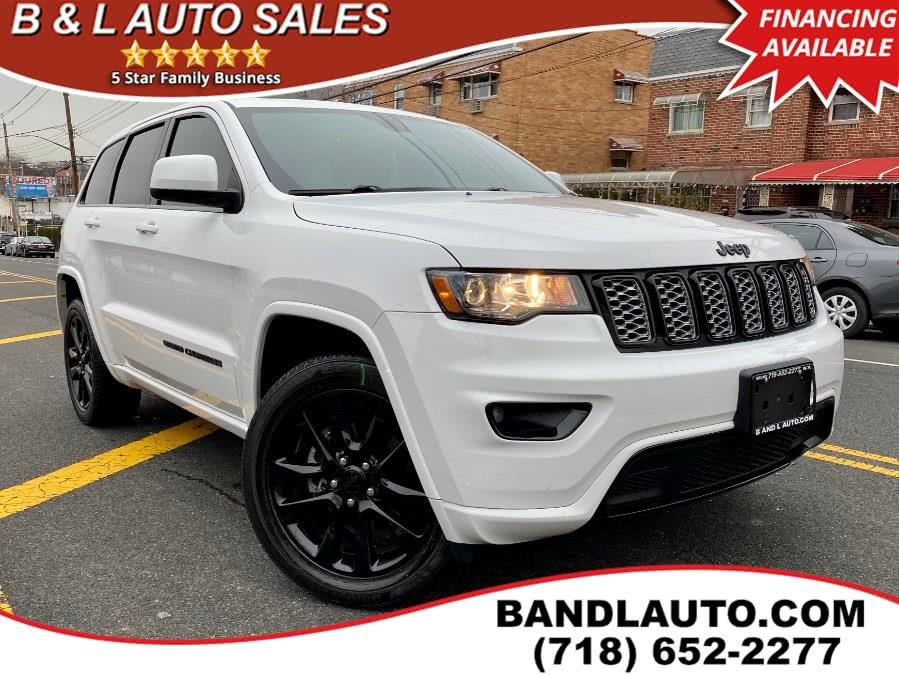 Used 2017 Jeep Grand Cherokee in Bronx, New York   B & L Auto Sales LLC. Bronx, New York