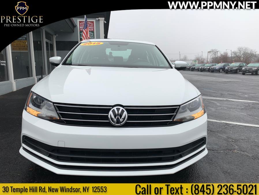 Used Volkswagen Jetta Sedan 4dr Auto 1.8T SE w/Connectivity 2015 | Prestige Pre-Owned Motors Inc. New Windsor, New York