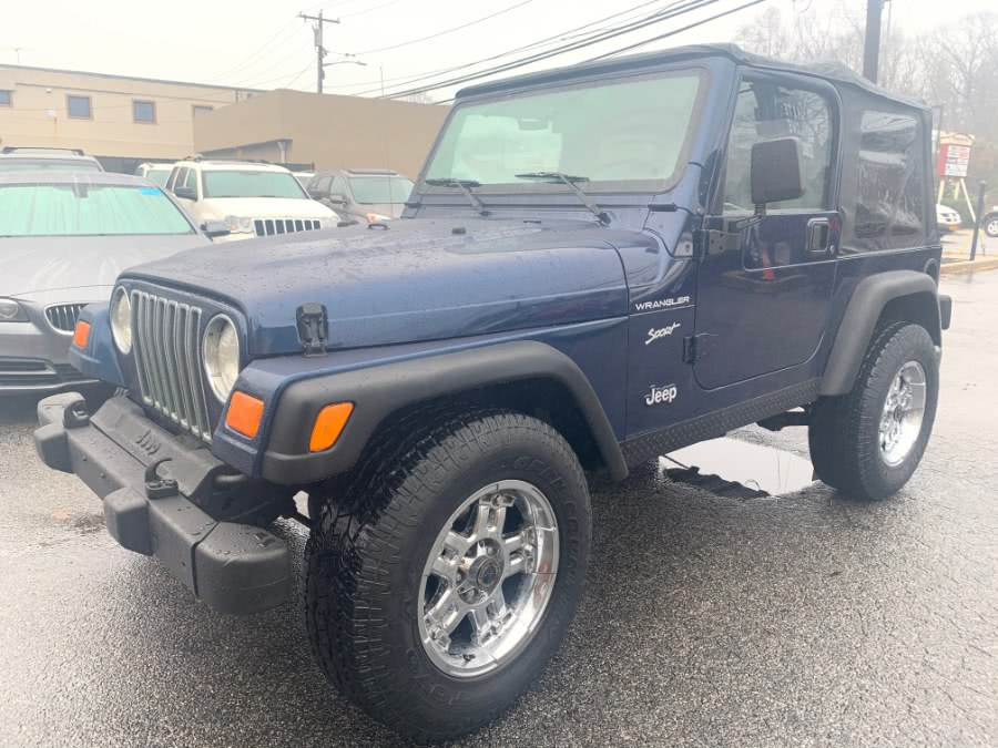 Used Jeep Wrangler 2dr Sport 2002 | White Glove Auto Leasing Inc. Huntington, New York