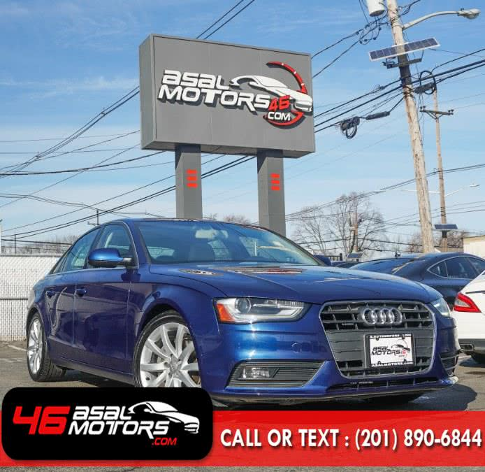 Used 2013 Audi A4 in East Rutherford, New Jersey | Asal Motors 46. East Rutherford, New Jersey