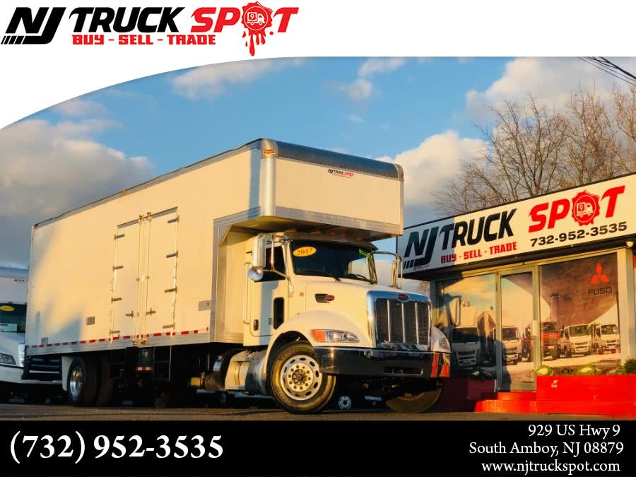 Used PETERBILT PB337 26 FEET MOVING BOX + AIR SUSPENSION + NO CDL 2017 | NJ Truck Spot. South Amboy, New Jersey