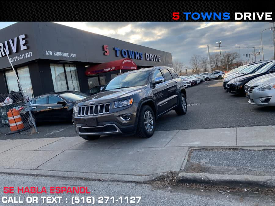 Used 2015 Jeep Grand Cherokee in Inwood, New York | 5 Towns Drive. Inwood, New York