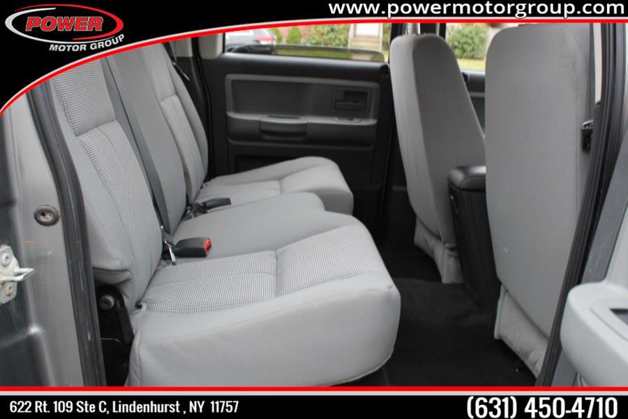 Used Dodge Dakota 4WD Crew Cab Bighorn/Lonestar 2010 | Power Motor Group. Lindenhurst , New York
